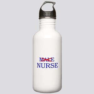 MALE NURSE Stainless Water Bottle 1.0L