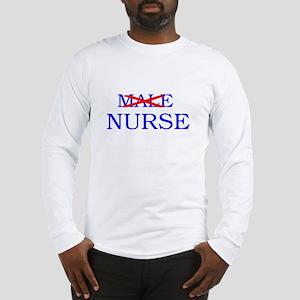 MALE NURSE Long Sleeve T-Shirt