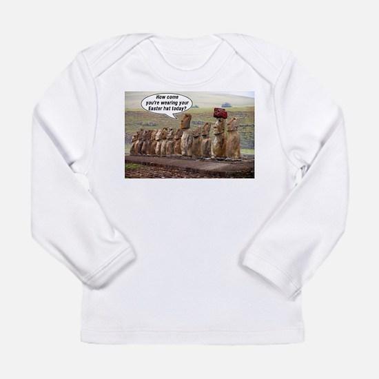 EasterIslandHatMeme Long Sleeve T-Shirt