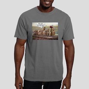 EasterIslandHatMeme Mens Comfort Colors Shirt