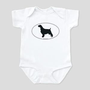 En Springer Silhouette Infant Bodysuit