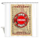 Chicago-18 Shower Curtain