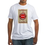 Chicago-18 Fitted T-Shirt