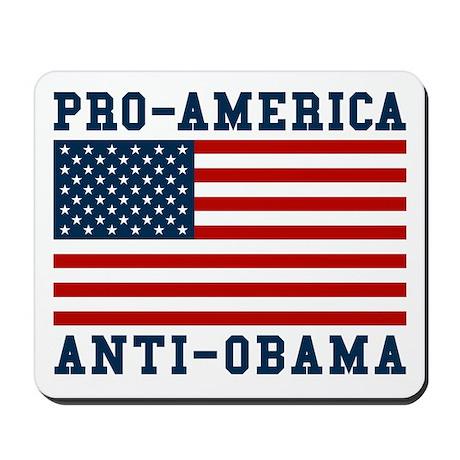 Pro-America Anti-Obama Mousepad