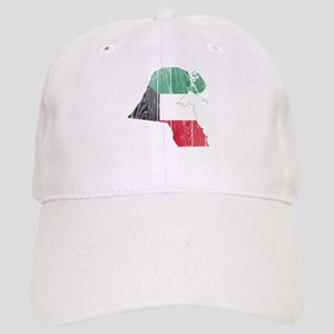 Kuwait Flag And Map Cap