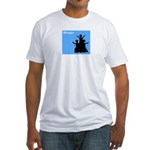 iBhangra Fitted T-Shirt