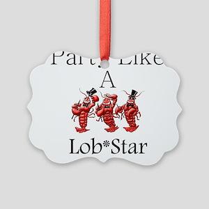 Lobstar Picture Ornament