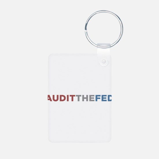AUDIT THE FED Keychains