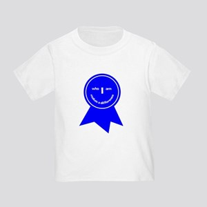 Who I Am Makes A Difference Toddler T-Shirt