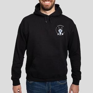 Alaskan Malamute IAAM Pocket Hoodie (dark)