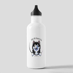 Alaskan Malamute IAAM Stainless Water Bottle 1.0L