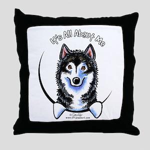 Alaskan Malamute IAAM Throw Pillow