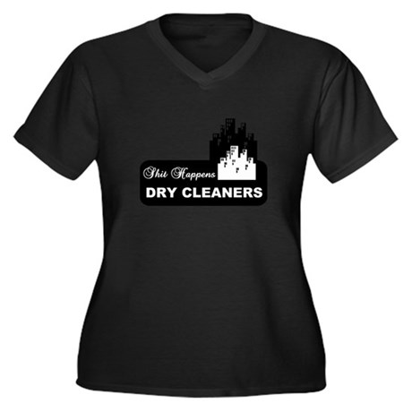 shit happens midtown dry cleaners shirt Women's Pl