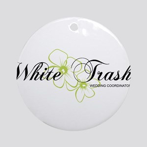 white trash wedding coordinators planner shirt Orn