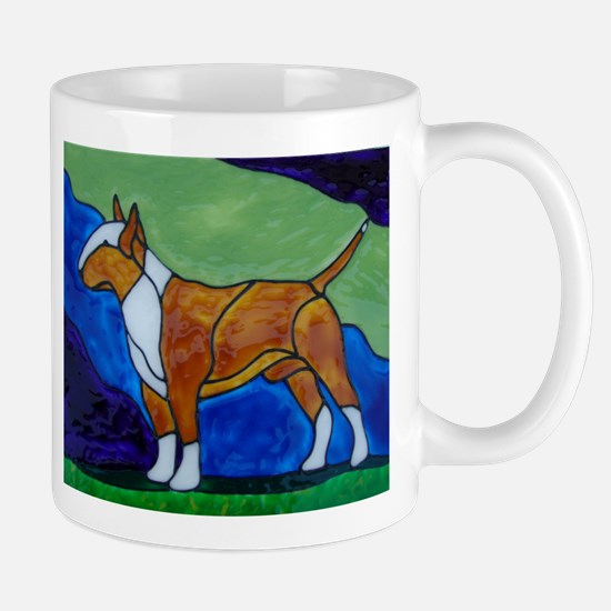 Stacked Red Bully Mug