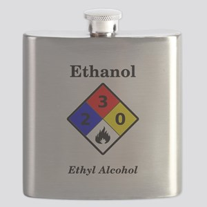 Ethanol MSDS Warning Flask