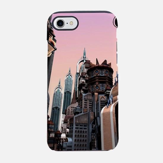 Futuristic City iPhone 7 Tough Case
