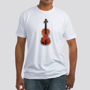 The Violin Fitted T-Shirt