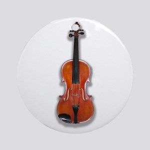 The Violin Ornament (Round)