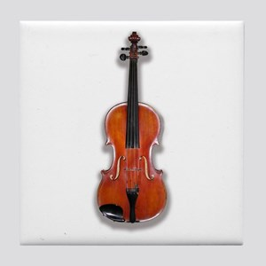 The Violin Tile Coaster