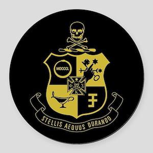 Phi Kappa Sigma Crest Round Car Magnet