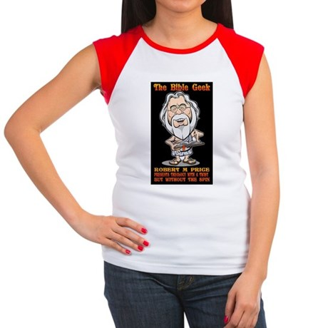 The Bible Geek Women's Cap Sleeve T-Shirt