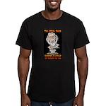 The Bible Geek Men's Fitted T-Shirt (dark)