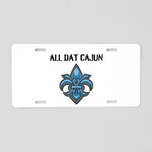 All Dat Cajun Aluminum License Plate