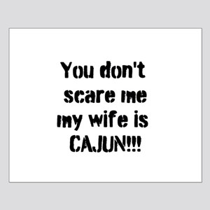 Cajun Wife Small Poster