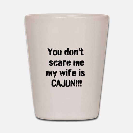Cajun Wife Shot Glass