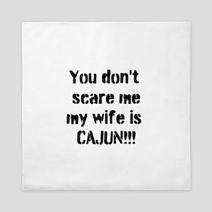 Cajun Wife Queen Duvet