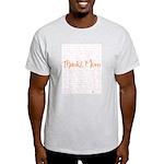 Thanks, Mom Ash Grey T-Shirt