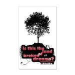 Land of Broken Dreams | 35x21 Wall Decal