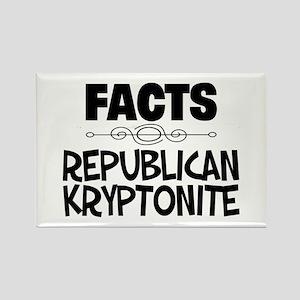 Republican Kryptonite Rectangle Magnet