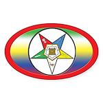 OES OVAL Bike Oval Sticker