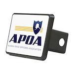 APOA Rectangular Hitch Cover