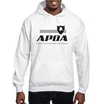 APOA Hooded Sweatshirt (white or ash grey)