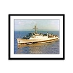 USS MONTICELLO Framed Panel Print