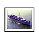 USS ORION Framed Panel Print