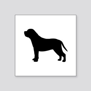 "Mastiff Square Sticker 3"" x 3"""