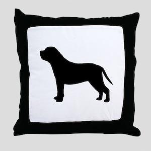 Mastiff Throw Pillow
