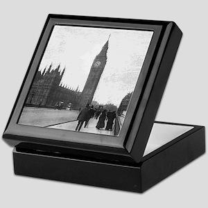 Vintage London Keepsake Box