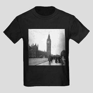 Vintage London Kids Dark T-Shirt