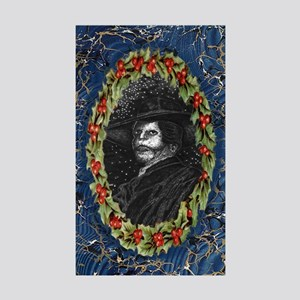 Angel Of The Night Phantom Opera Blue Sticker