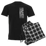 Pits Rule Men's Dark Pajamas