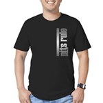 Pits Rule Men's Fitted T-Shirt (dark)