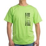 Pits Rule Green T-Shirt
