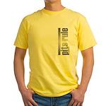 Pits Rule Yellow T-Shirt