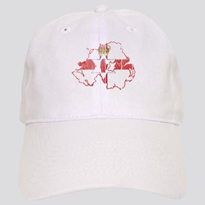 Northern Ireland Flag And Map Cap