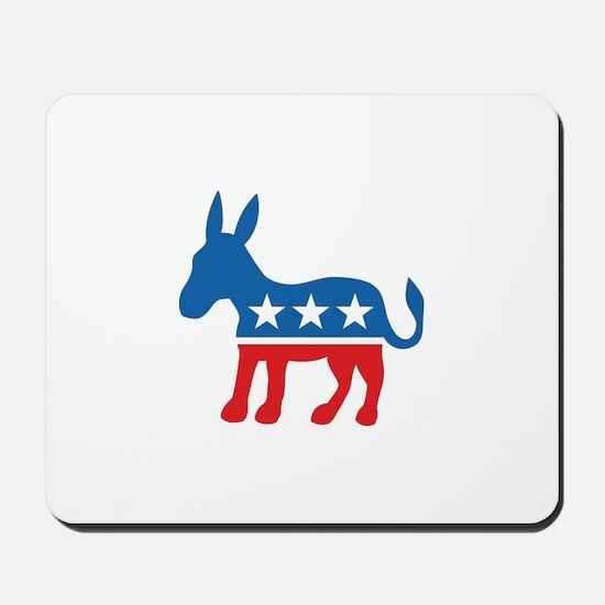 Democratic Donkey Democrat Mousepad
